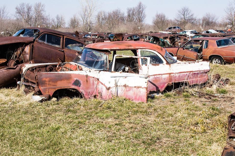 Free photo: Junk Yard, Rusty, Rusty Stuff - Free Image on Pixabay ...