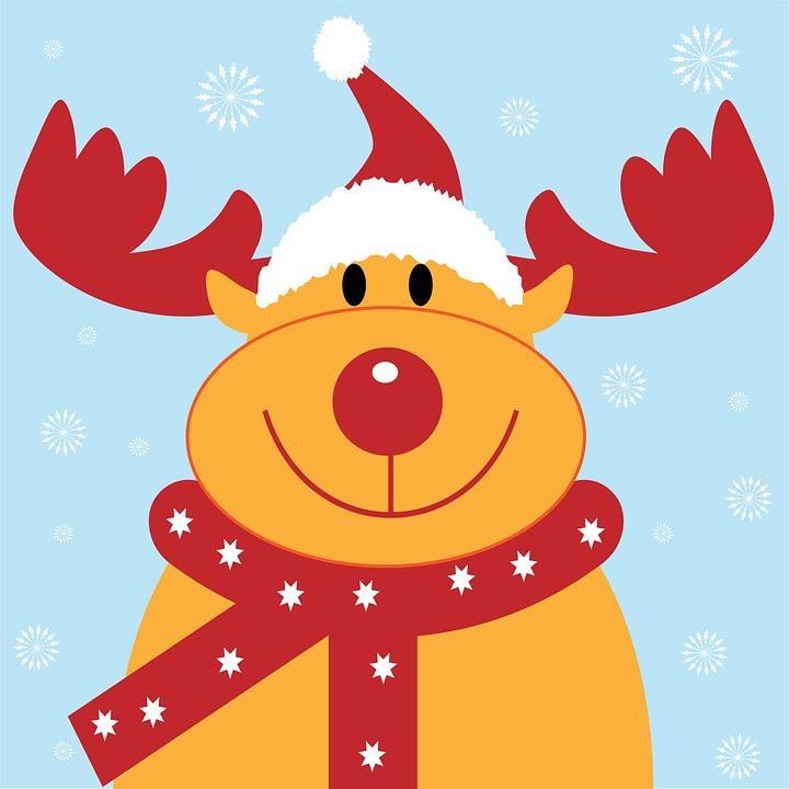 Weihnachten Rentier Rudolph · Kostenloses Bild auf Pixabay