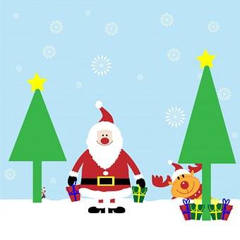 Christmas, Santa, Santa Claus