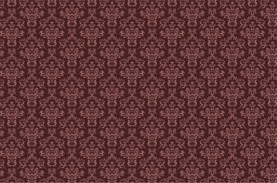 free illustration damask brown pattern background. Black Bedroom Furniture Sets. Home Design Ideas