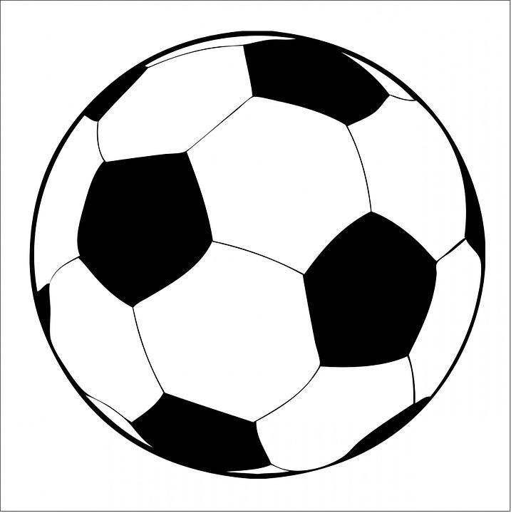 Fotball Ball, Fotball, Svart, White, Sport, Ball