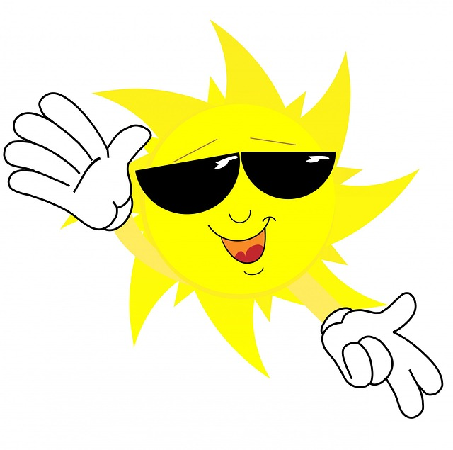 Sun Face Sunglasses · Free image on Pixabay