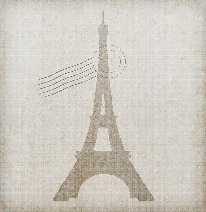 Eiffelturm Linie Papier · Kostenloses Bild auf Pixabay