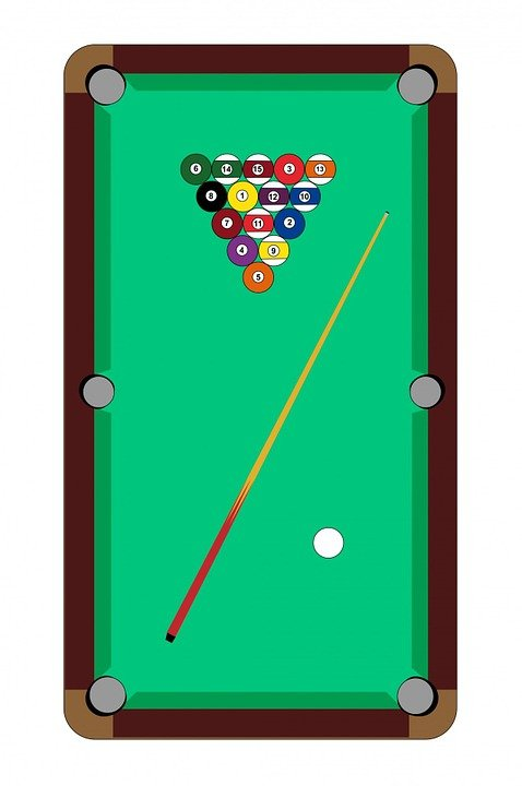Pool Table Size Chart: Pool Table - Free images on Pixabay,Chart