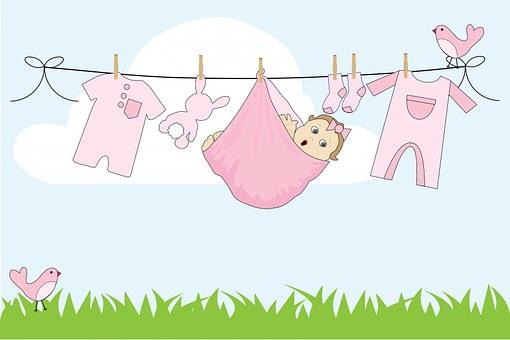 Baby, Girl, Baby Girl, Pink, Cute