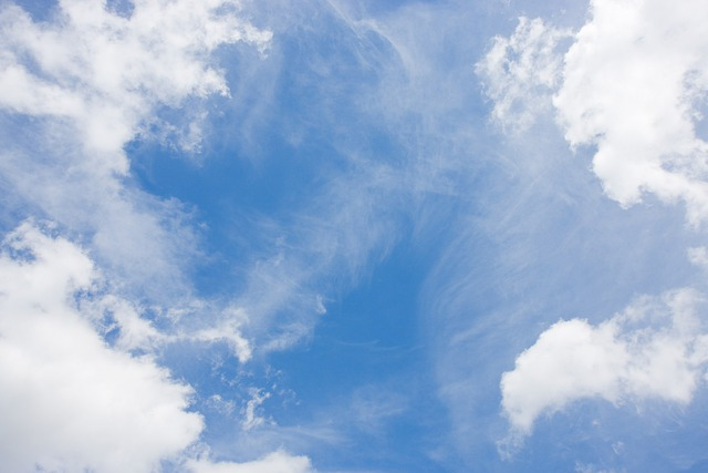 Sky Blue Clouds 183 Free Photo On Pixabay
