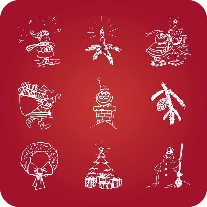 Free vector graphic: Christmas, Holidays, Icons, Snowman ...