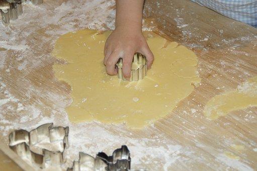 Child, Children, Bake, Cookie Cutter