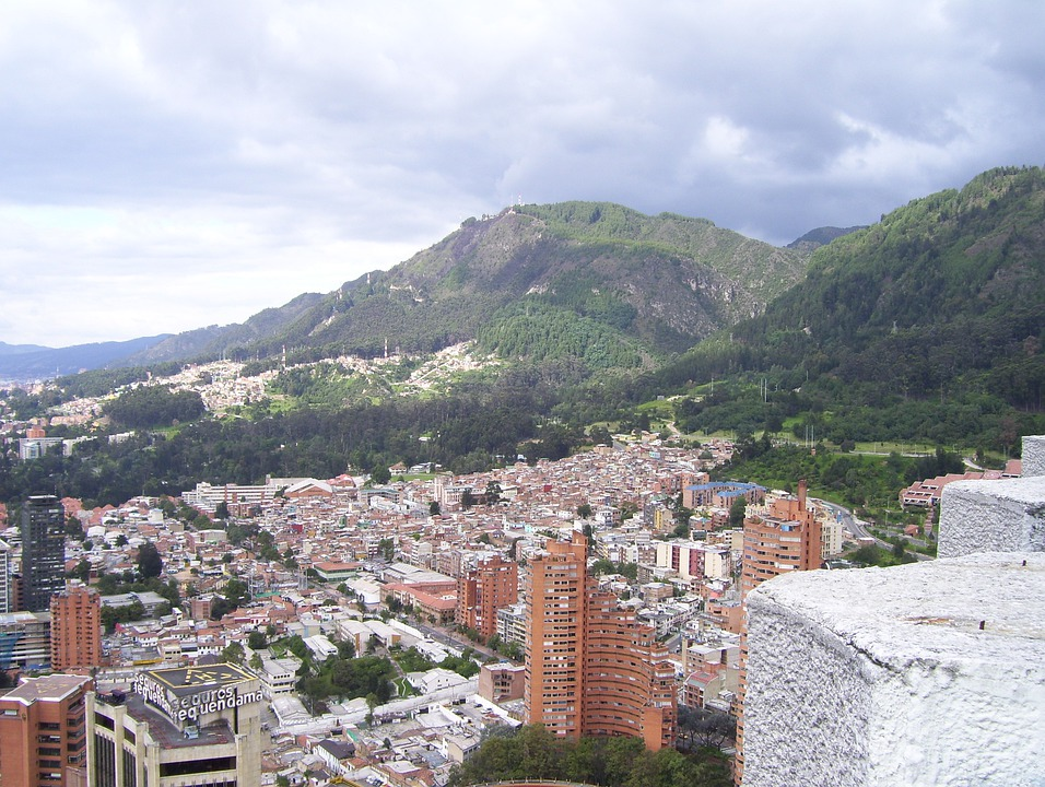 Image result for Bogota, Colombia, Mountain, Architecture, Skyline, City