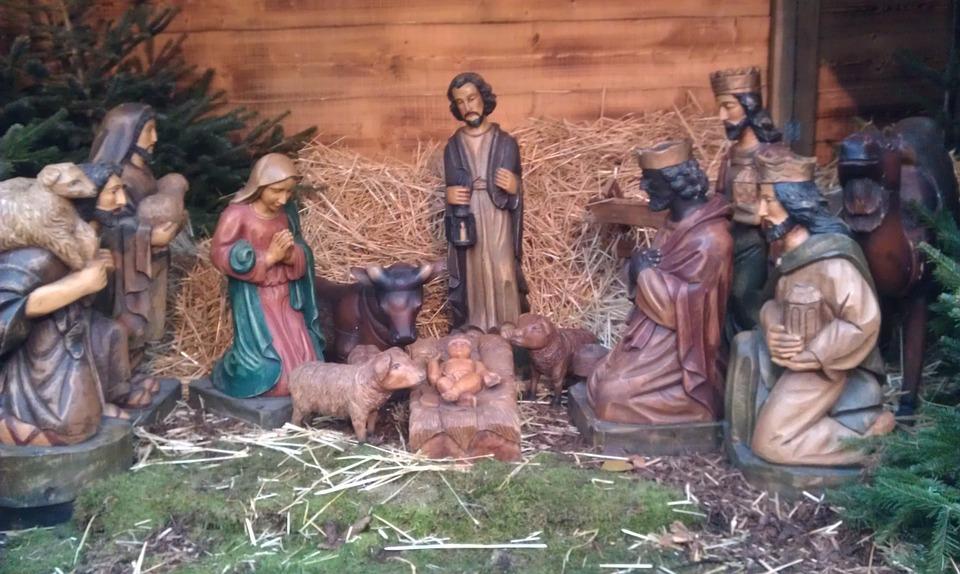 Christliche Weihnachten.Krippe Christlich Weihnachten Kostenloses Foto Auf Pixabay