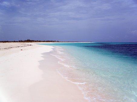 Beach Cayo Cuba Blue C