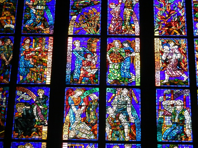 Stained Glass Window Church Christ 183 Free Photo On Pixabay