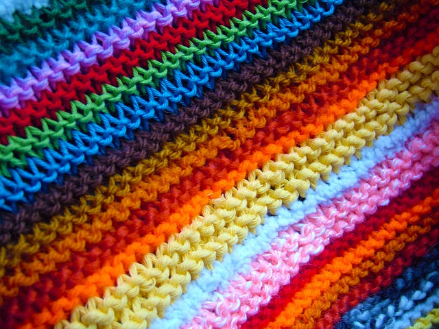 Jigsaw Blanket Knitting Pattern : Free photo: Blanket, Cover, Craft, Colorful - Free Image on Pixabay - 224367