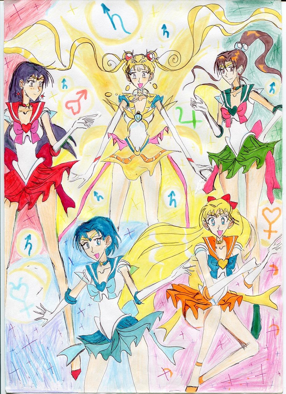 Anime Animasi Kartun Foto Gratis Di Pixabay