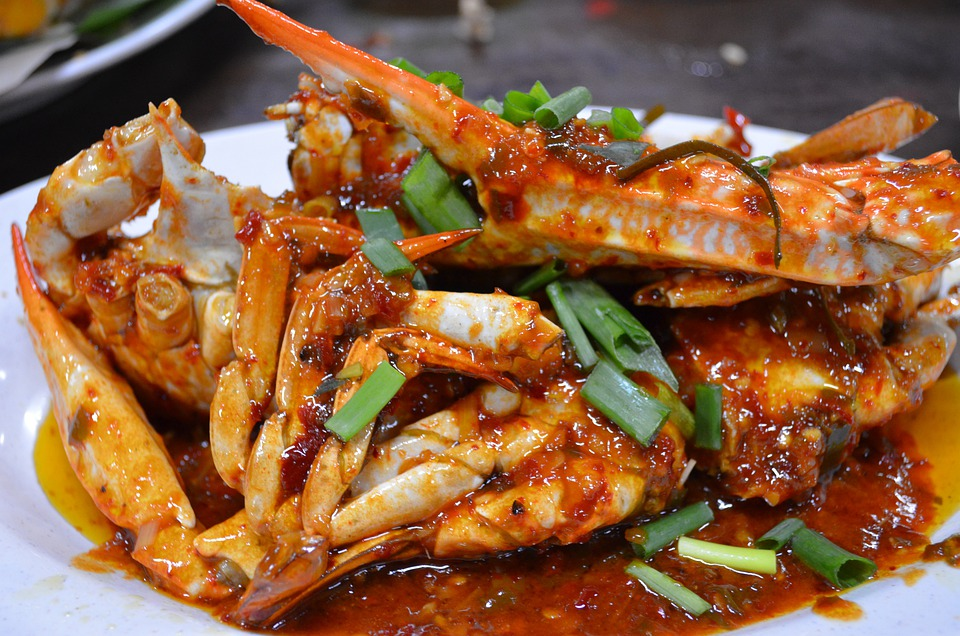 Free Photo Food Crabs Seafood Dinner Free Image On