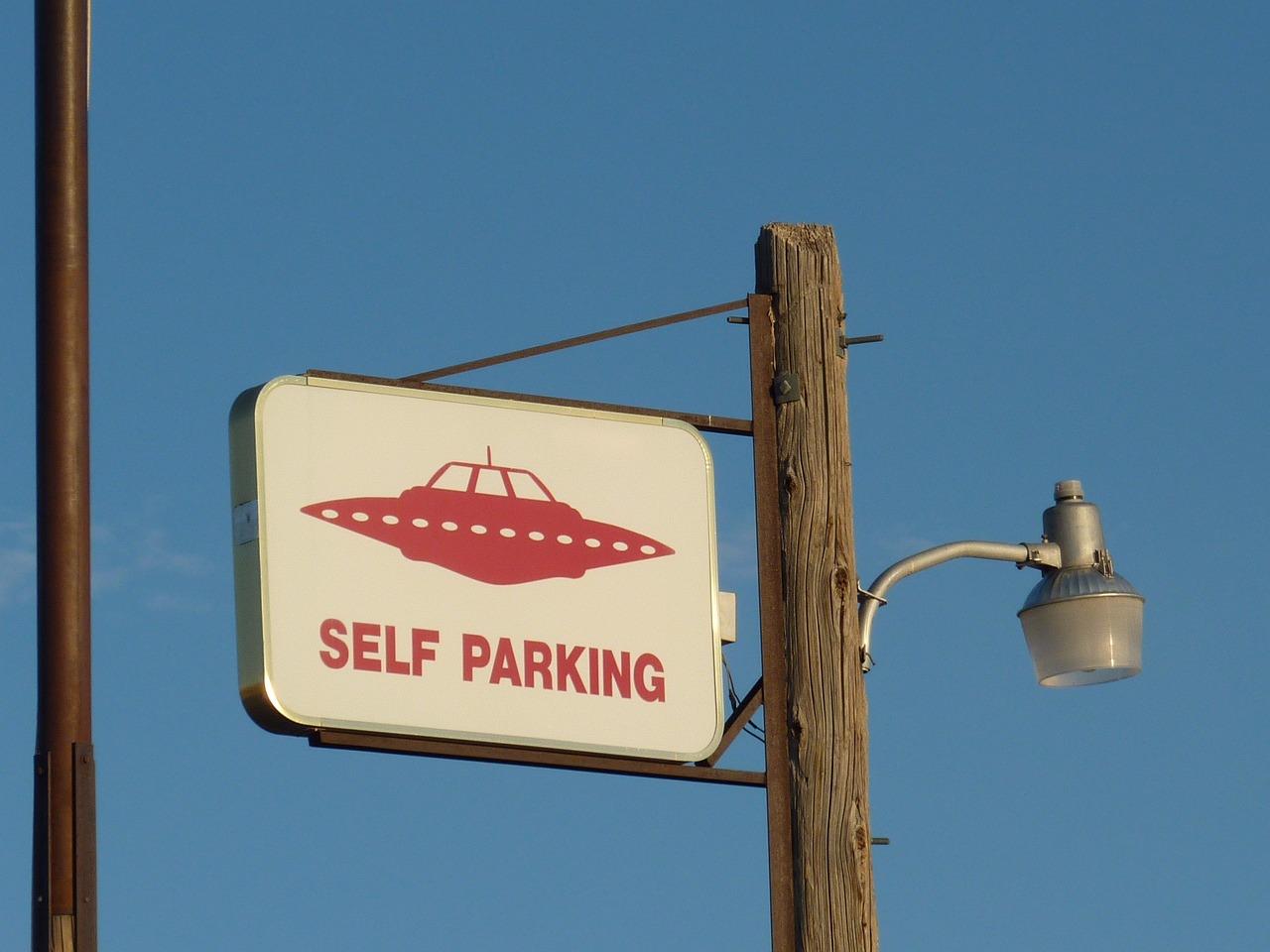 エイリアン, エリア 51, Ufo, 地球外ハイウェイ, レイチェル, ネバダ, 道路標識, 公園, 駐車場