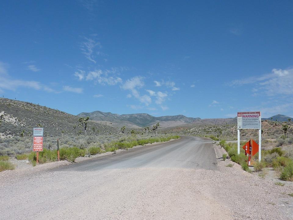 Ausserirdische, Area 51, Ufo, Extraterrestrial Highway