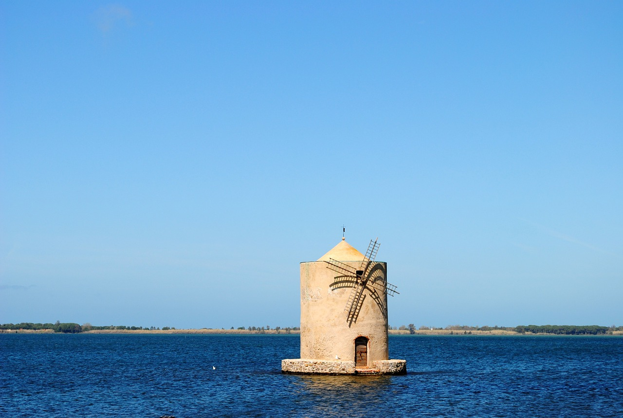 Orbetello Photo Sea house