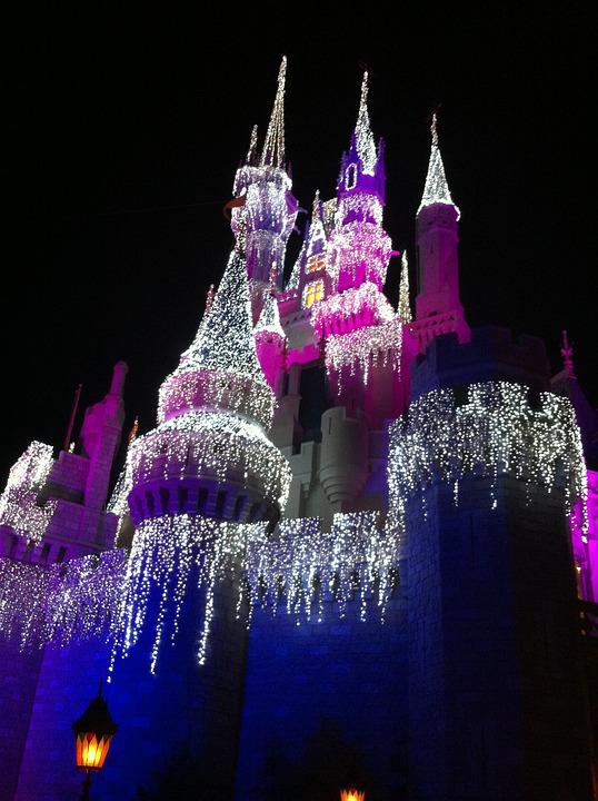 ディズニー ・ ワールド, シンデレラの城, フロリダ州オーランド, アミューズメント パーク, 休暇