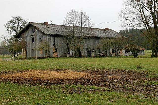 Free Photo Barn Farm Farmhouse Building Free Image
