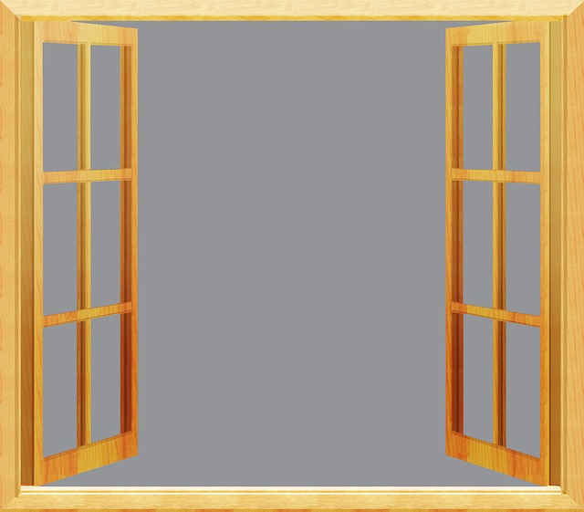 Free illustration window open frame interior sky for Fenster offen