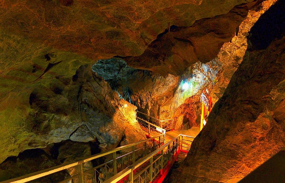 洞窟, 日本, 球泉洞, 人吉