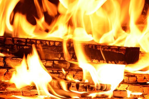 Fire, Flame, Wood Fire, Brand, Glowing