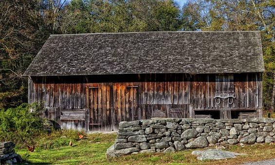 Barn Connecticut Scenic Farm Rural Country