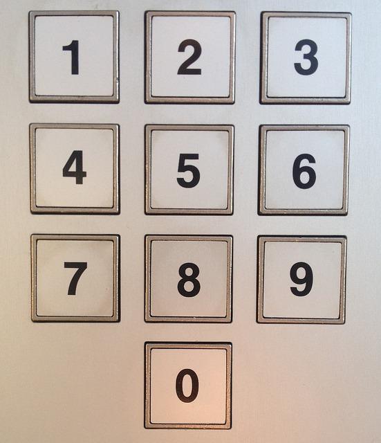 Pankkiautomaatin Näppäimistö
