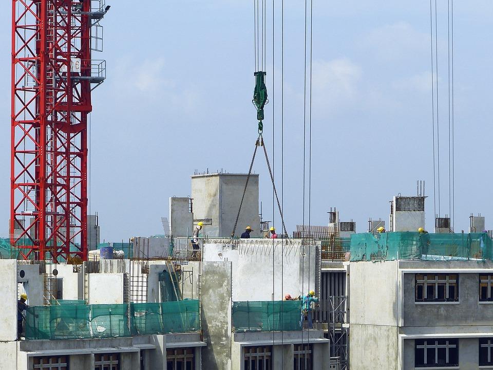 Building Construction Site : Construction site crane building · free photo on pixabay