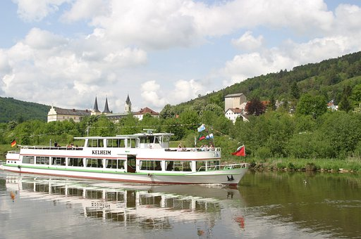 Altmühl, Kelheim, Altmühltal, Schiff