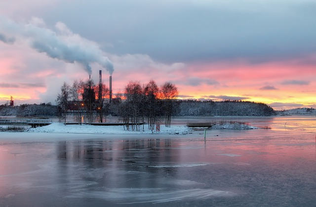 Free Photo Finland Sky Clouds Sunset River Free