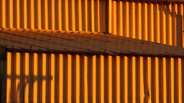 Pattern, Shadow, Roof, Building, Light