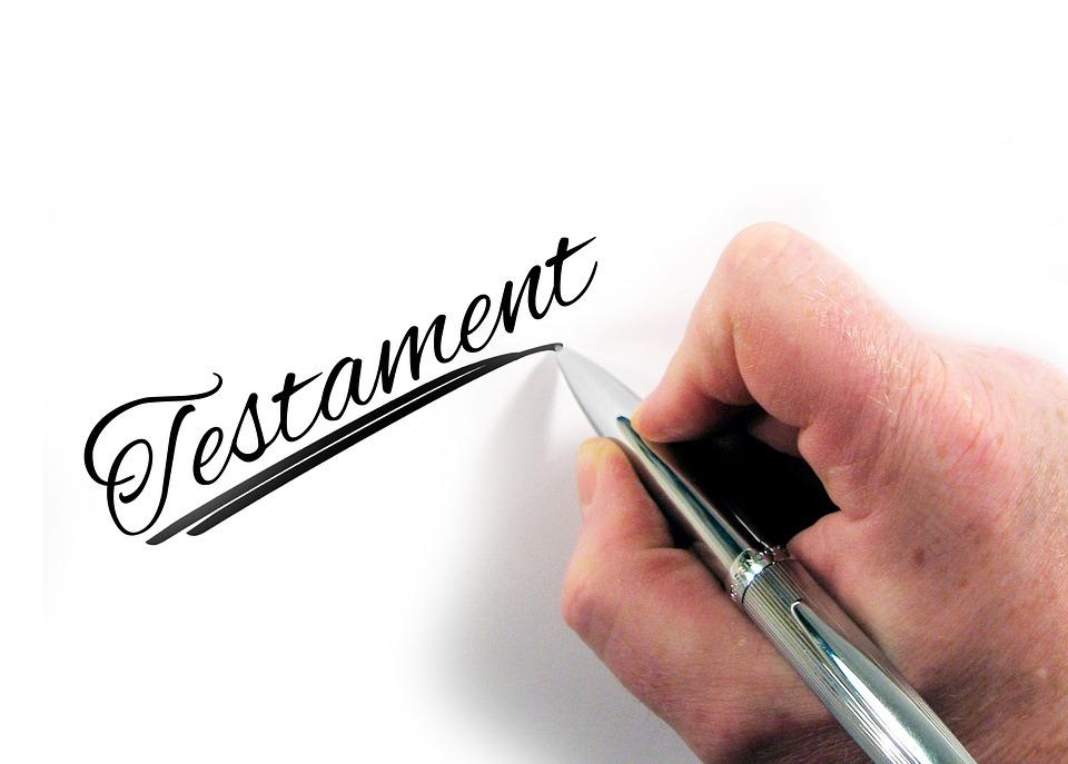 Testament, Main, Écrire, Stylo, Papier, Lettres, Sera