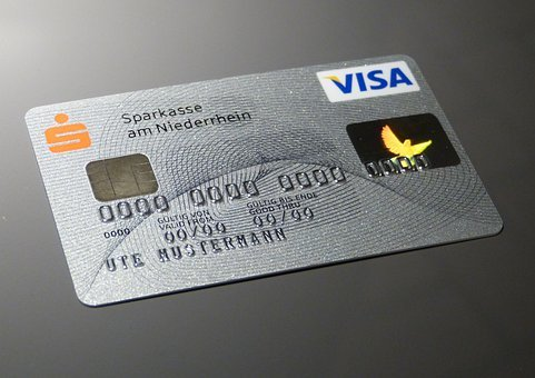 Cheque Guarantee Card, Credit Card