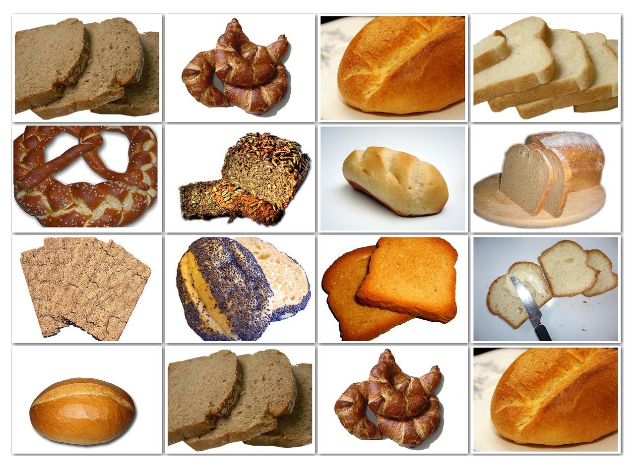 Рисунки хлебобулочных изделий для детей