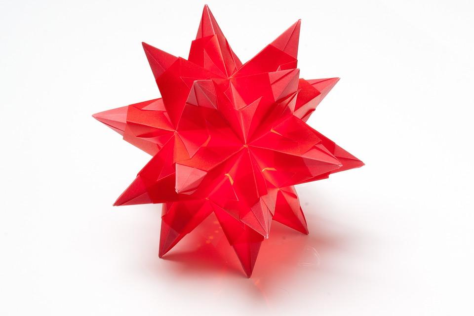 Origami Stella Di Natale.Stella Di Natale Origami Arte Foto Gratis Su Pixabay