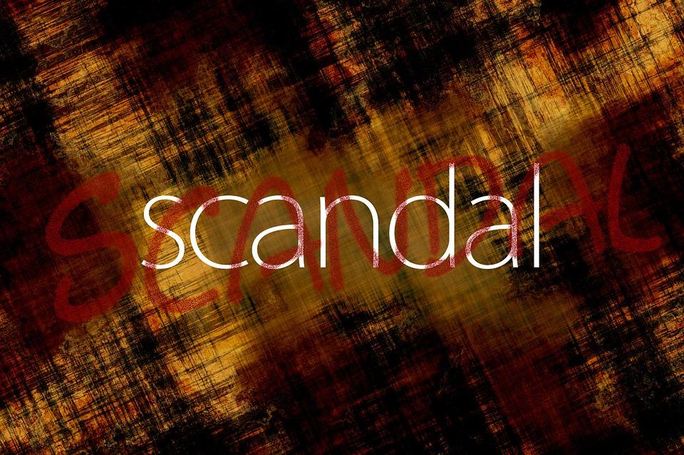 スキャンダル, 単語, フォント, 汚い, 土, 構造, テクスチャ, パターン, ストライプ, スクラッチ