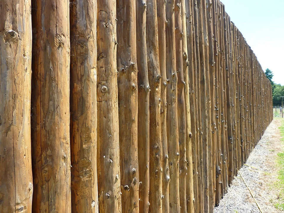 Kostenloses foto perspektive zaun fort holz - Cercado de madera ...