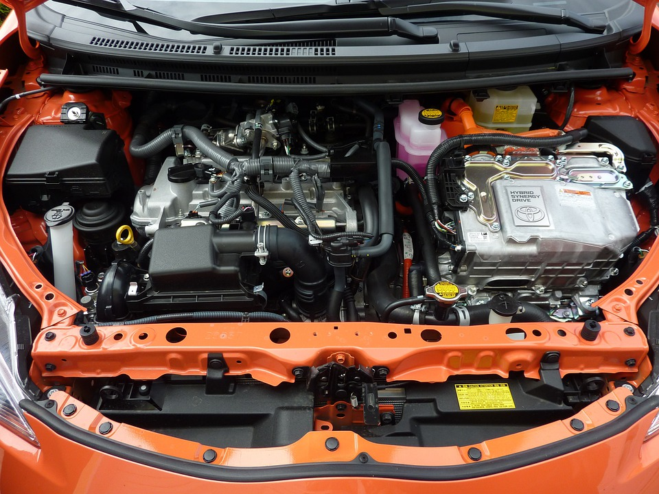 Car Engine, Prius C, Motor, Vehicle, Automobiles, jump start car