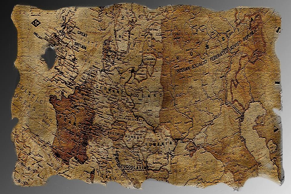 Terkep Kincses Antik Ingyenes Foto A Pixabay En