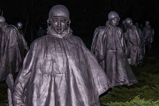 Korean Veterans Memorial Washington Dc Sta
