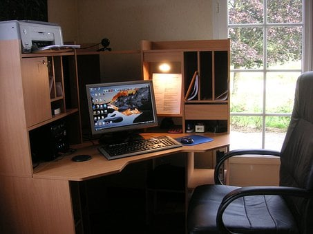 Work Space, Home Office, Office, Space