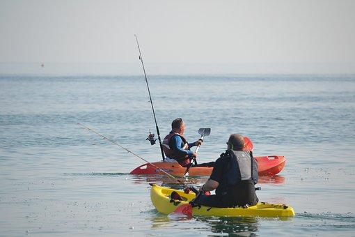 Kayak, Canoe, Paddles, Paddling