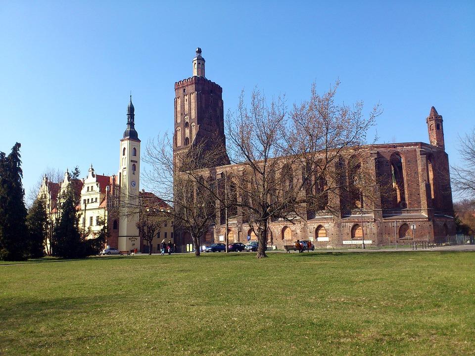 Kirchenruine Gubin Polen Kostenloses Foto Auf Pixabay