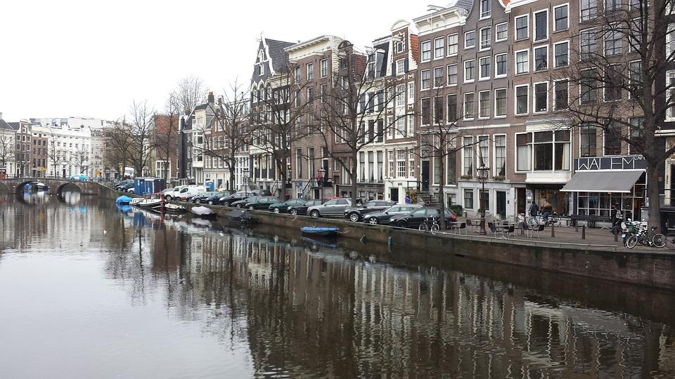Gratis Foto: Amsterdam, Gracht, Huizen