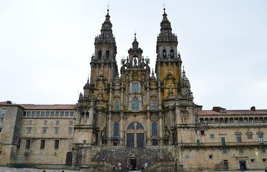 Catedral Santiago De Compostela España Igl