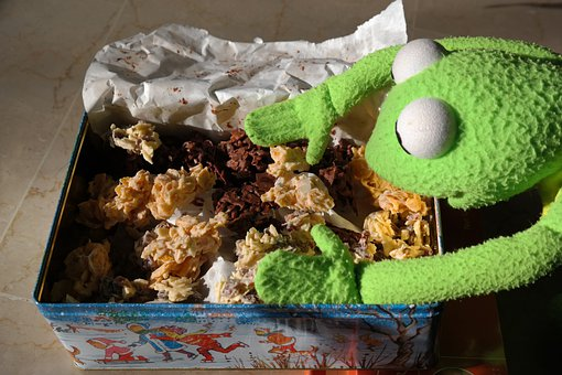 Frog, Kermit, Cookie, Nibble, Hunger