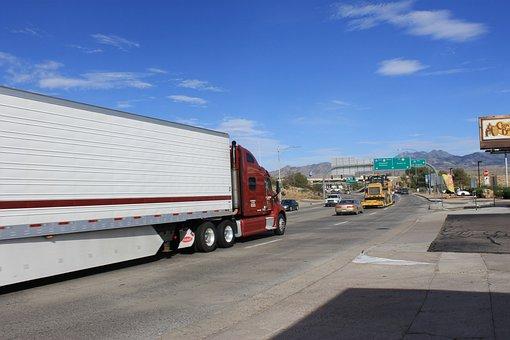 Carretera, Camión, Camino