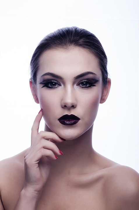 Děvče, Oči, Make Up, Sexy, Glamour, Model, Portrét